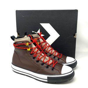 Converse 169588C Men's High Top Sneaker CTAS All Terran Hi Brown Leather Lace Up